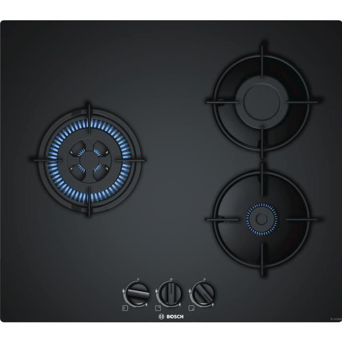Bosch pnc6b6b10 table de cuisson gaz 3 foyers comparer avec - Comparateur de prix gaz ...