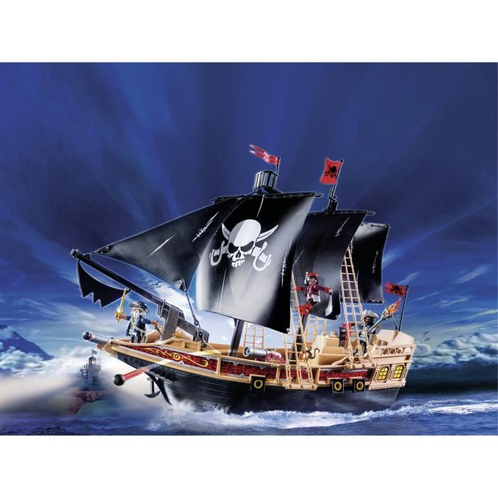 playmobil 6678 pirates bateau pirates des t n bres comparer avec. Black Bedroom Furniture Sets. Home Design Ideas