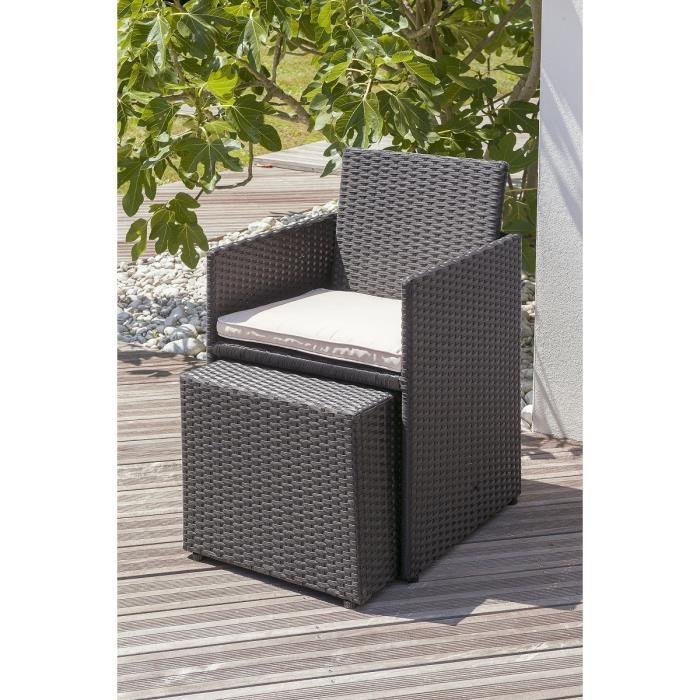 dcb garden salon de jardin 2 place table r sine tress e. Black Bedroom Furniture Sets. Home Design Ideas