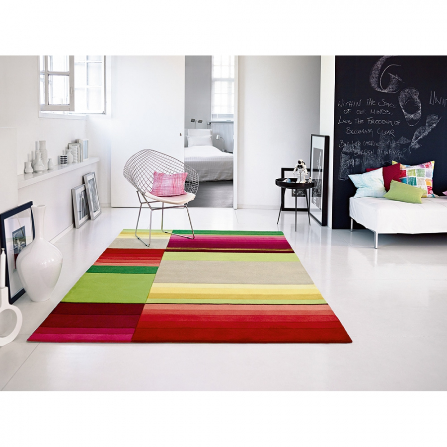 esprit bock pattern tapis de salon moderne 70 x 140 cm. Black Bedroom Furniture Sets. Home Design Ideas