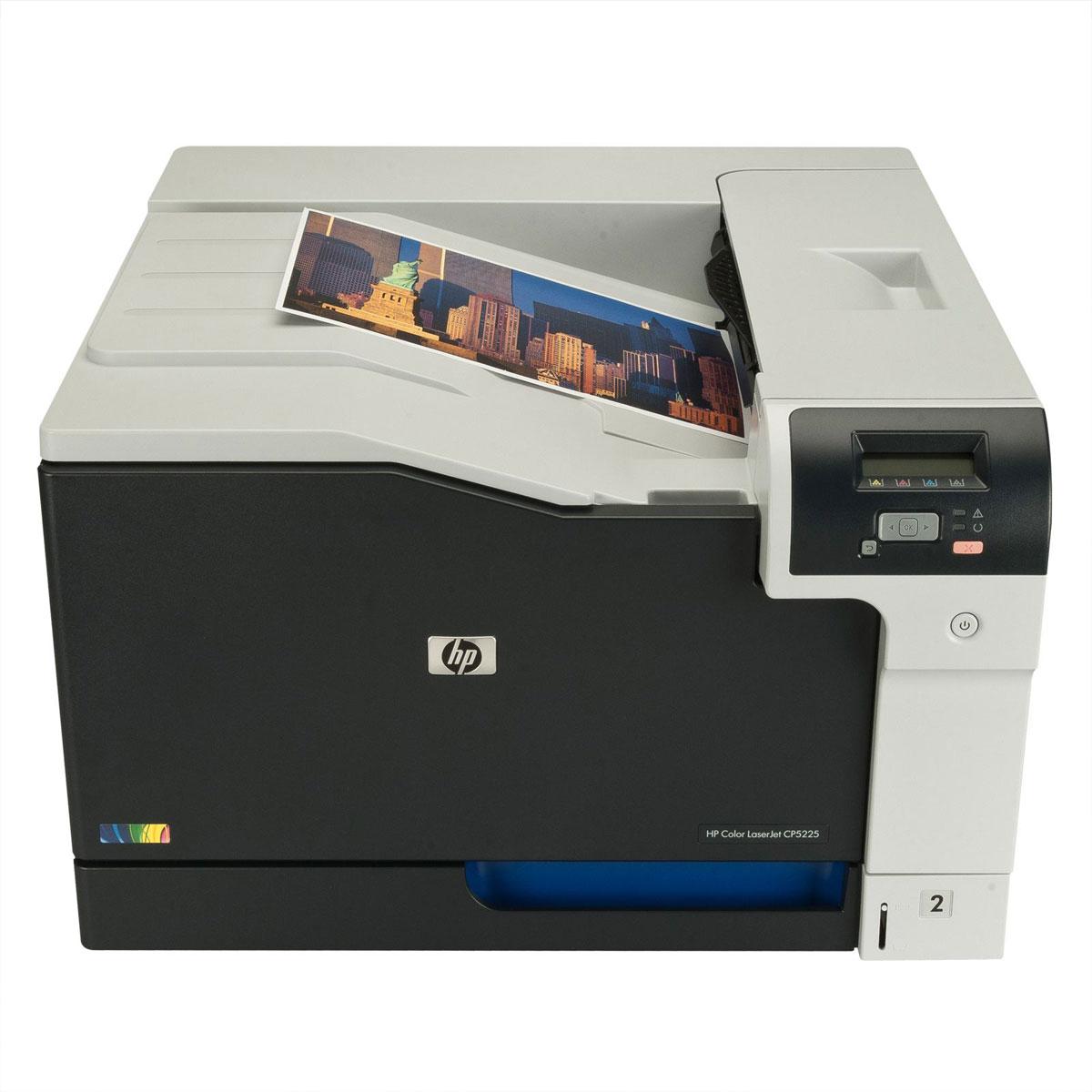 hp laserjet cp5225 imprimante laser couleur comparer. Black Bedroom Furniture Sets. Home Design Ideas