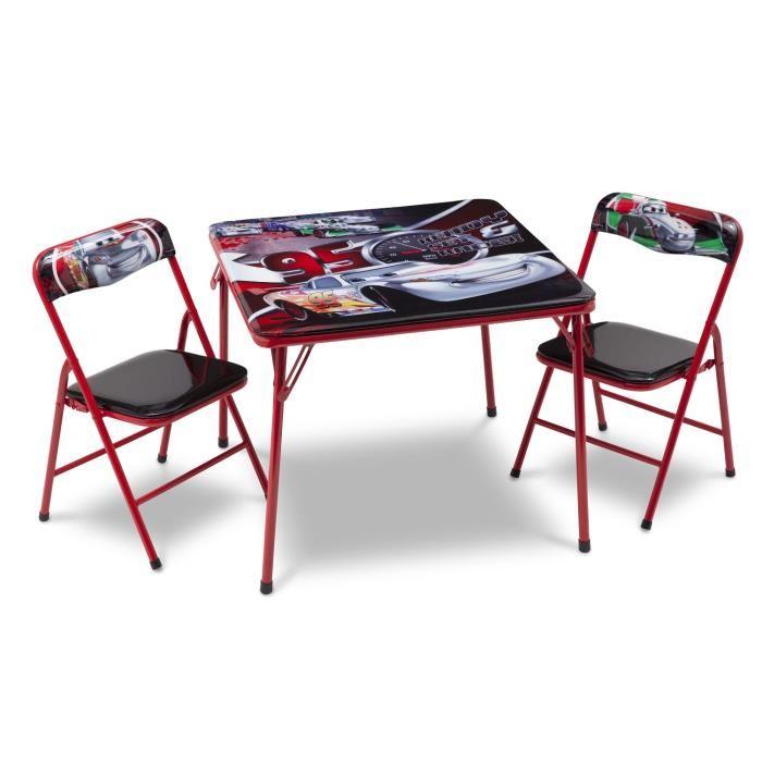 delta children table et chaises pliables cars en plastique et m tal comparer avec. Black Bedroom Furniture Sets. Home Design Ideas