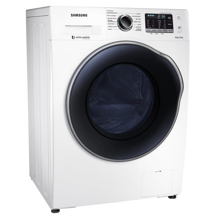 samsung wd80j5430aw lave linge s chant frontal 8 kg. Black Bedroom Furniture Sets. Home Design Ideas