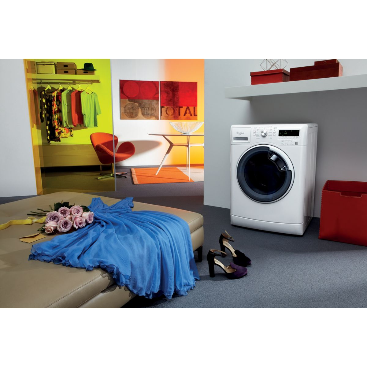 whirlpool awoe41048 lave linge frontal 10 kg comparer. Black Bedroom Furniture Sets. Home Design Ideas