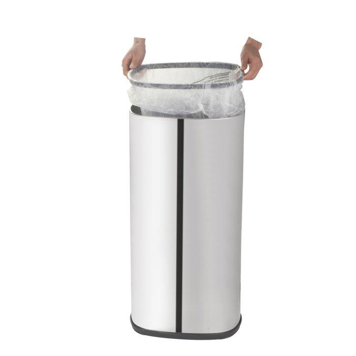 kitchen move bat 58ls06 a poubelle de cuisine automatique luxe en inox 58 l comparer avec. Black Bedroom Furniture Sets. Home Design Ideas