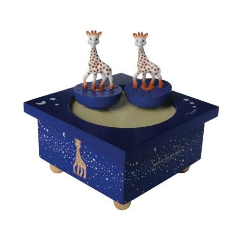 trousselier bo te musique magn tique sophie la girafe. Black Bedroom Furniture Sets. Home Design Ideas