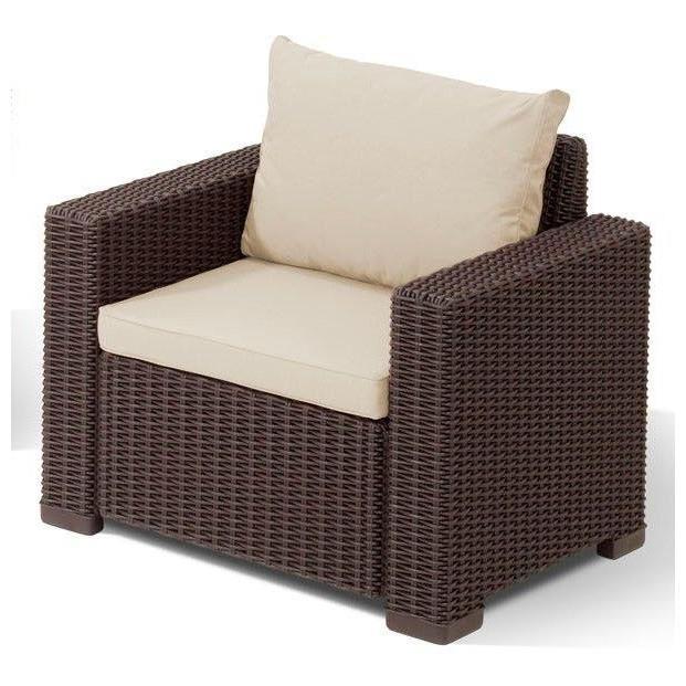 allibert salon de jardin california 5 places aspect rotin rond comparer avec. Black Bedroom Furniture Sets. Home Design Ideas