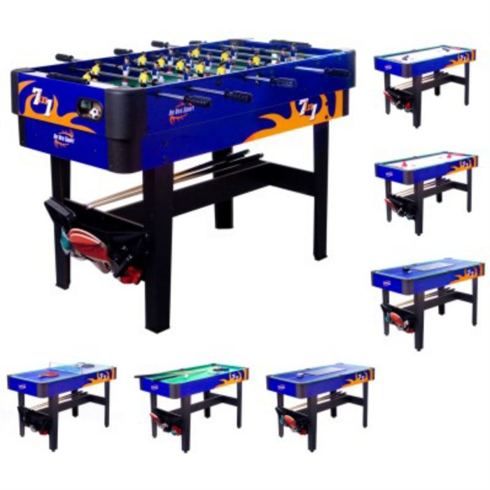 table de jeux 7 en 1 baby foot billard ping pong. Black Bedroom Furniture Sets. Home Design Ideas