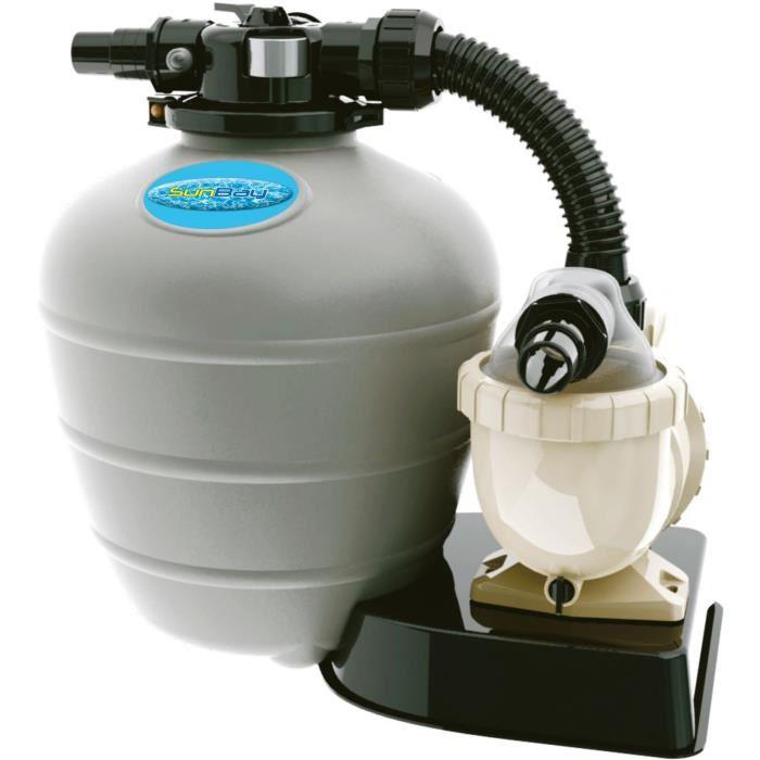 Sunbay 779570 Groupe De Filtration Sable 6 M3 H 0 75
