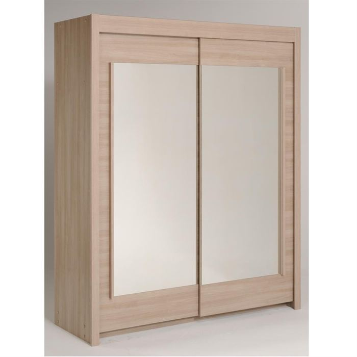 Armoire nikos 7 2 portes 2 tag res 2 miroirs comparer - Comparateur de prix congelateur armoire ...