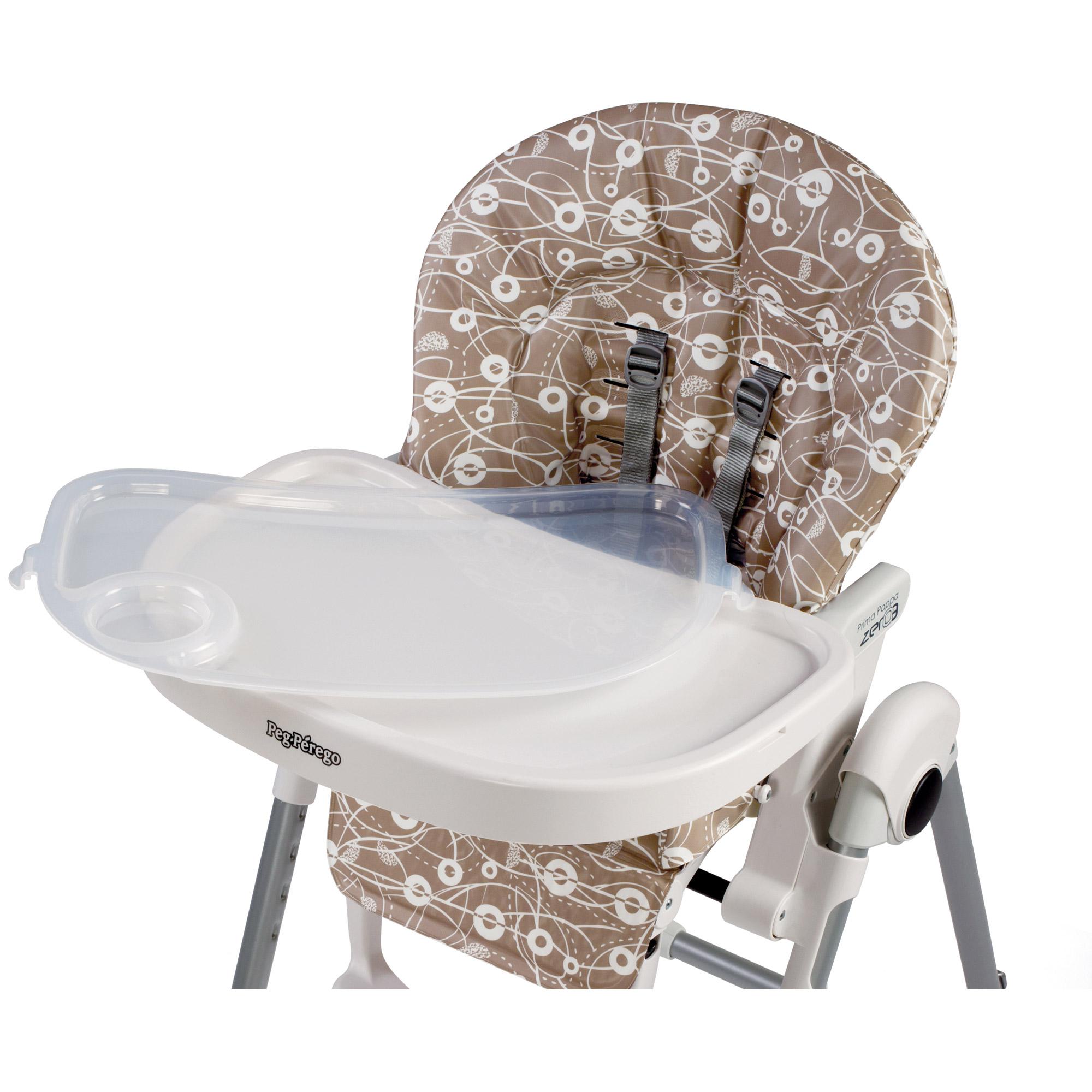Peg perego prima pappa zero3 2018 chaise haute - Housse chaise haute peg perego prima pappa diner ...