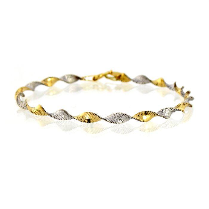 Bracelet pour femme en or blanc