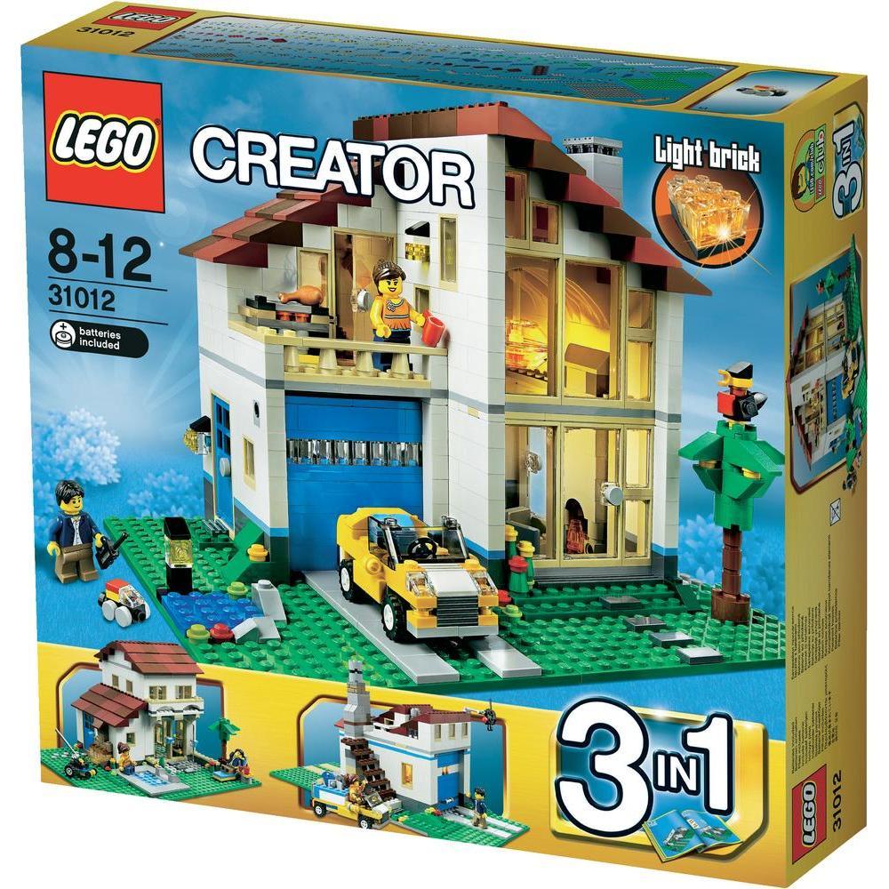 lego 31012 creator 3 en 1 la maison de famille comparer avec. Black Bedroom Furniture Sets. Home Design Ideas