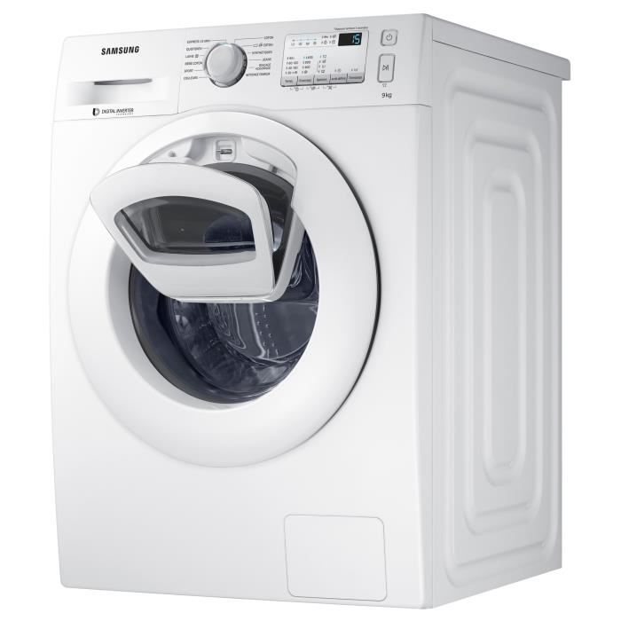 samsung ww90k4437yw lave linge frontal 9 kg addwash comparer avec. Black Bedroom Furniture Sets. Home Design Ideas