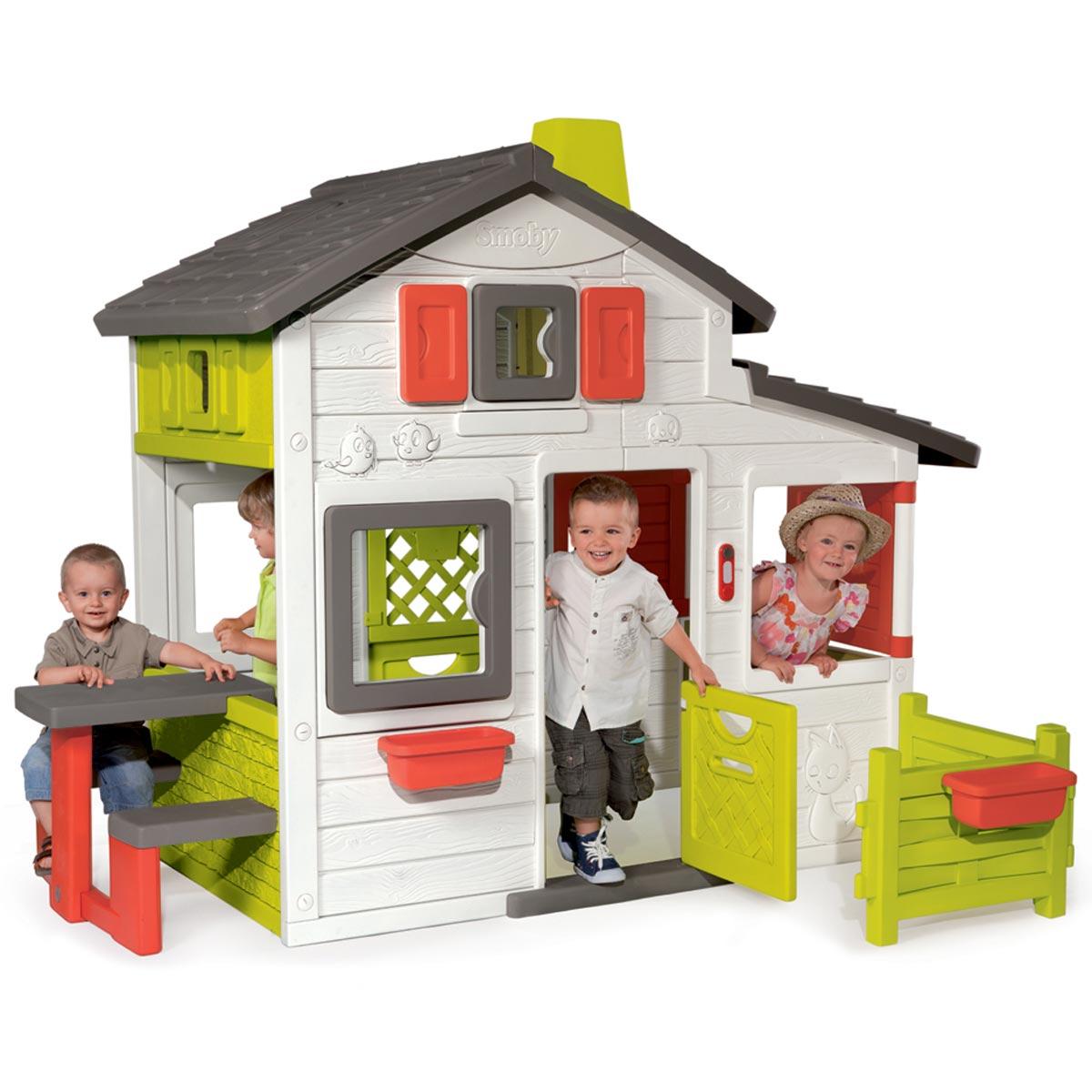 Smoby Maison de jardin Friends House - Comparer avec Touslesprix.com