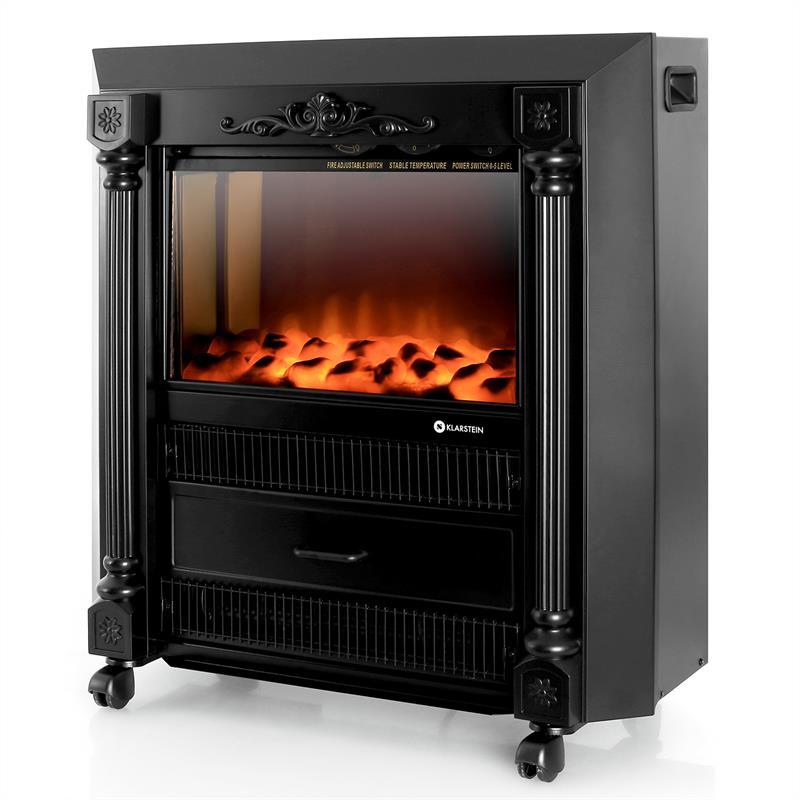 klarstein grenoble chemin e lectrique ventilateur chaud. Black Bedroom Furniture Sets. Home Design Ideas