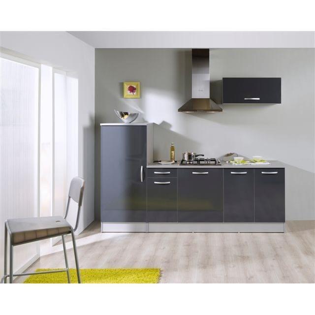 cuisine grise laque finest cuisine gris laqu debonair cuisine cuisine noir et argent chaios. Black Bedroom Furniture Sets. Home Design Ideas