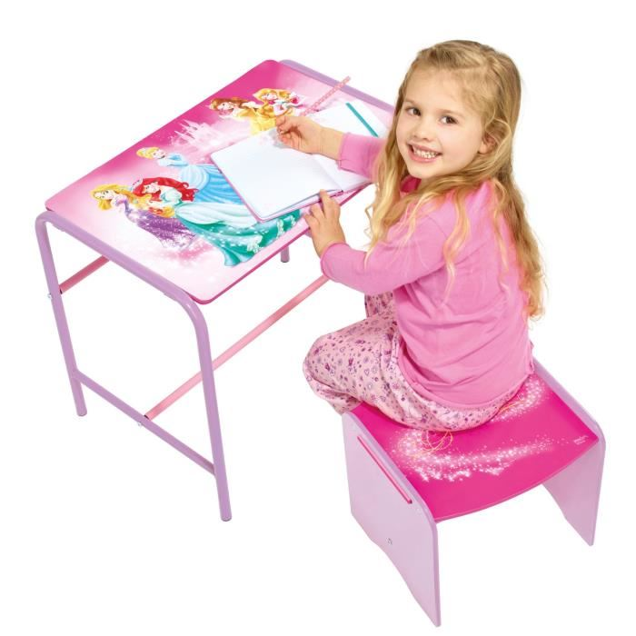 worlds apart bureau et tabouret disney princesse comparer avec. Black Bedroom Furniture Sets. Home Design Ideas