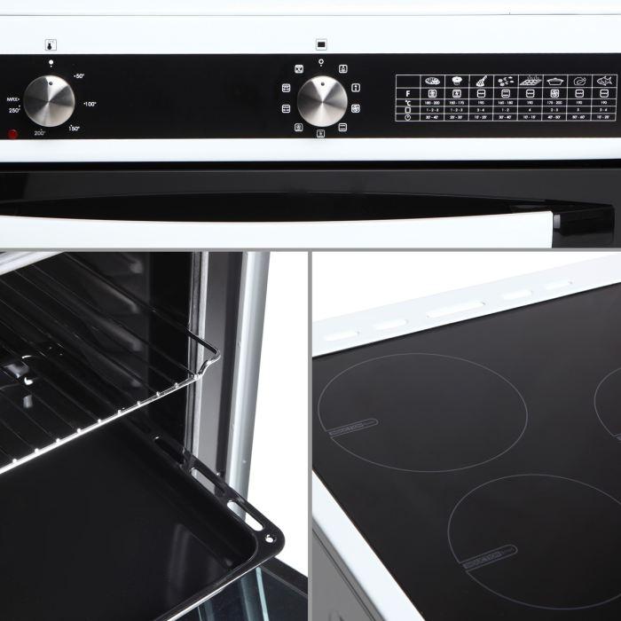 Continental Edison CICM603Z - Cuisinière induction 3 zones avec ...