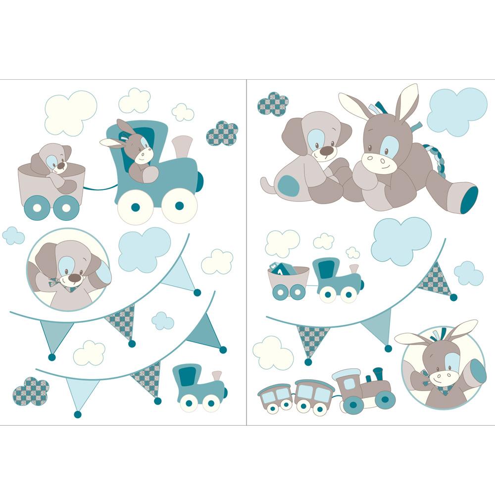 Nattou Stickers déco Gaston & Cyril Comparer avec