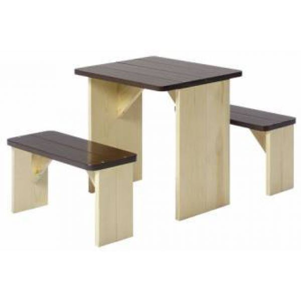 axi table de pique nique pour enfant zid zed comparer avec. Black Bedroom Furniture Sets. Home Design Ideas