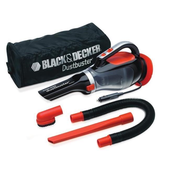 black & decker dustbuster auto adv1220 - aspirateur à main 12 v