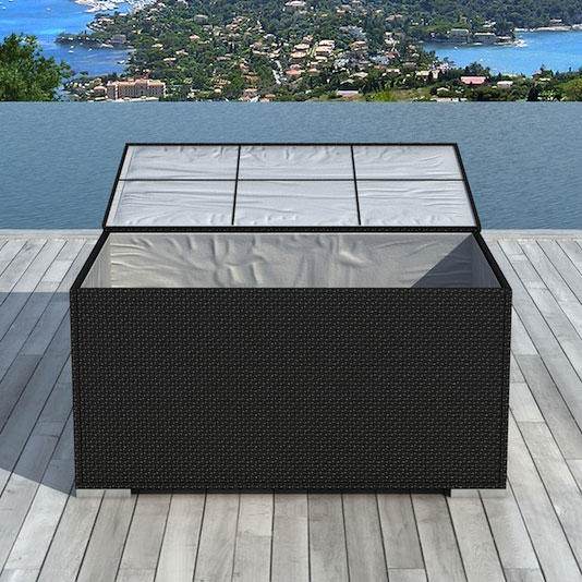 Beautiful Coffre De Jardin Noir Etanche Contemporary - ansomone.us ...