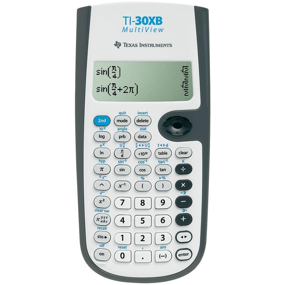 Texas instruments ti 30xb calculatrice scientifique for Calculatrice prix