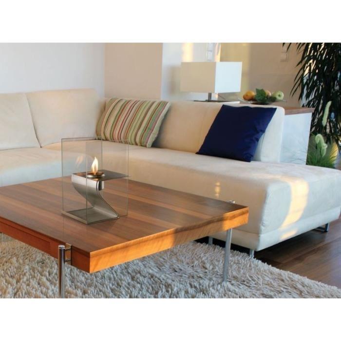 purline hera chemin e de table au bio thanol comparer avec. Black Bedroom Furniture Sets. Home Design Ideas