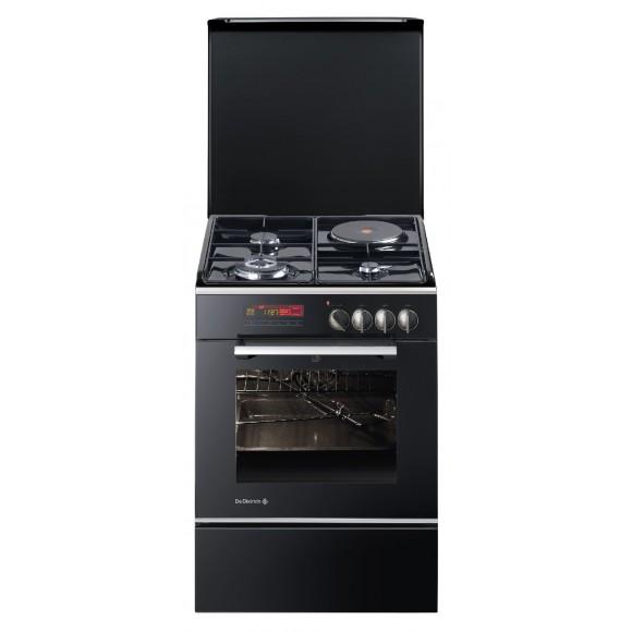 de dietrich dcm1040 cuisiniere mixte 3 foyers gaz et four lectrique comparer avec. Black Bedroom Furniture Sets. Home Design Ideas