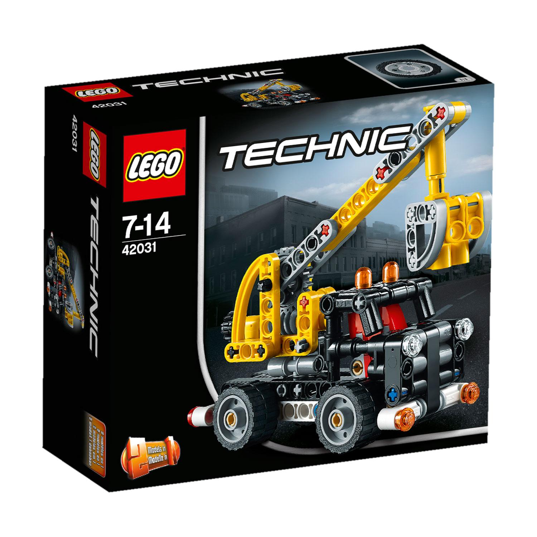 lego 42031 technic le camion nacelle comparer avec. Black Bedroom Furniture Sets. Home Design Ideas