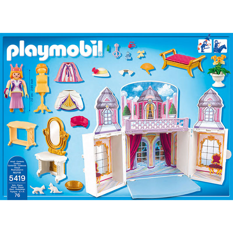 Playmobil 5419 Princess - Château de princesses transportable ...