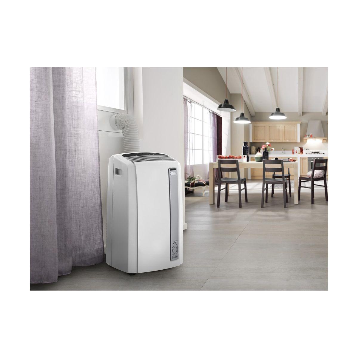delonghi pac an112 silent climatiseur monobloc mobile. Black Bedroom Furniture Sets. Home Design Ideas
