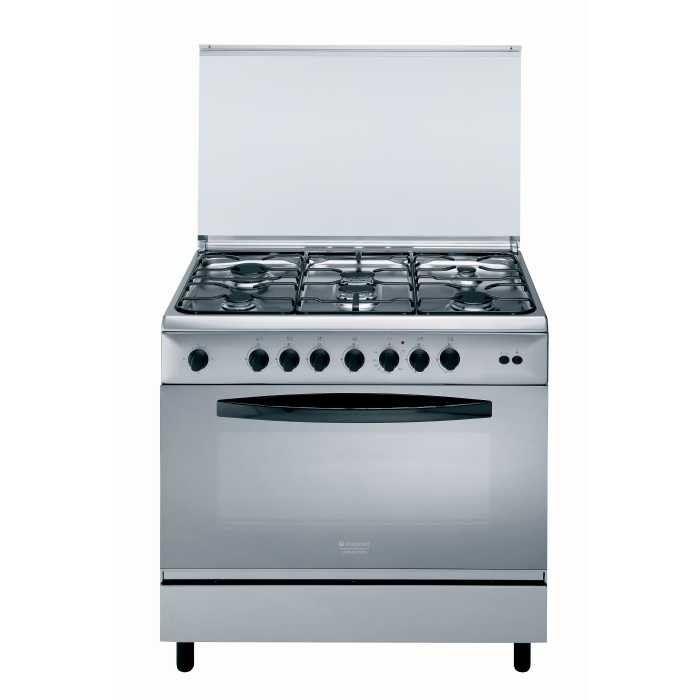 hotpoint c09sg1 ha cuisini re professionnelle sur pieds tout gaz 6 br leurs comparer avec. Black Bedroom Furniture Sets. Home Design Ideas