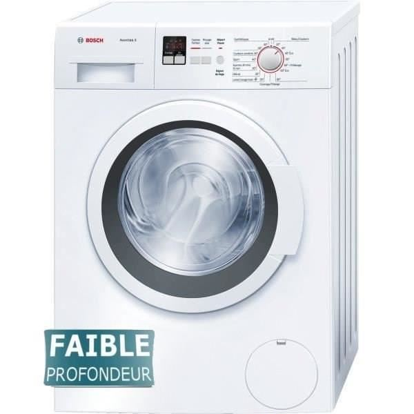 bosch wlo24160ff lave linge frontal 6 kg comparer avec. Black Bedroom Furniture Sets. Home Design Ideas
