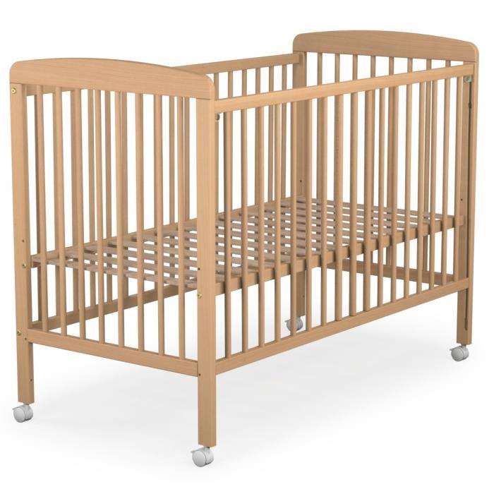 Ateliers t4 lit b b barreaux coulissant 120 x 60 cm comparer avec - Lit bebe barreaux coulissant ...