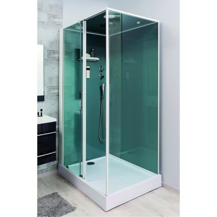 lt aqua adely cabine de douche droite 90 x 120 cm comparer avec. Black Bedroom Furniture Sets. Home Design Ideas