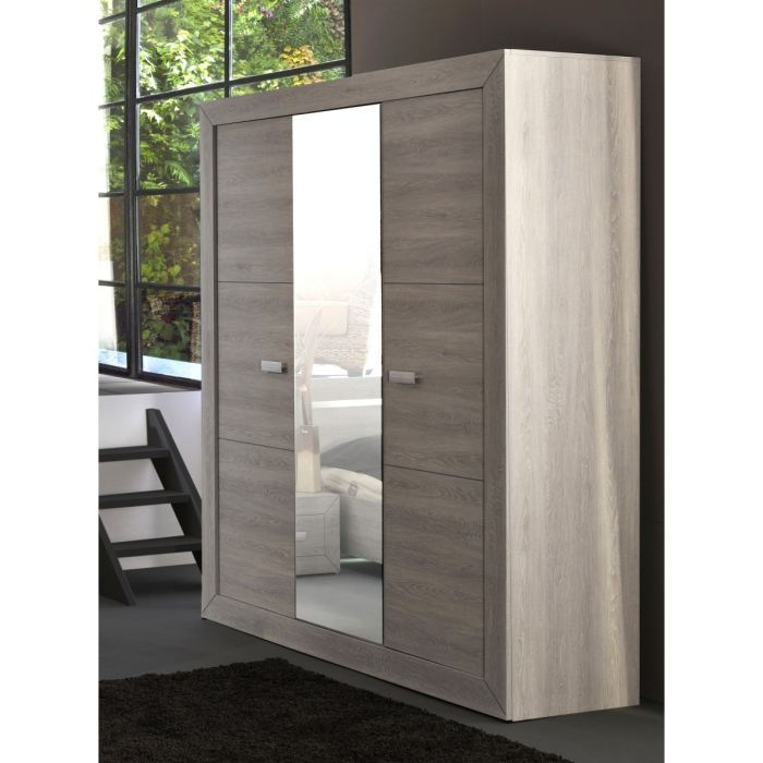 armoire lumeo 3 portes comparer avec. Black Bedroom Furniture Sets. Home Design Ideas