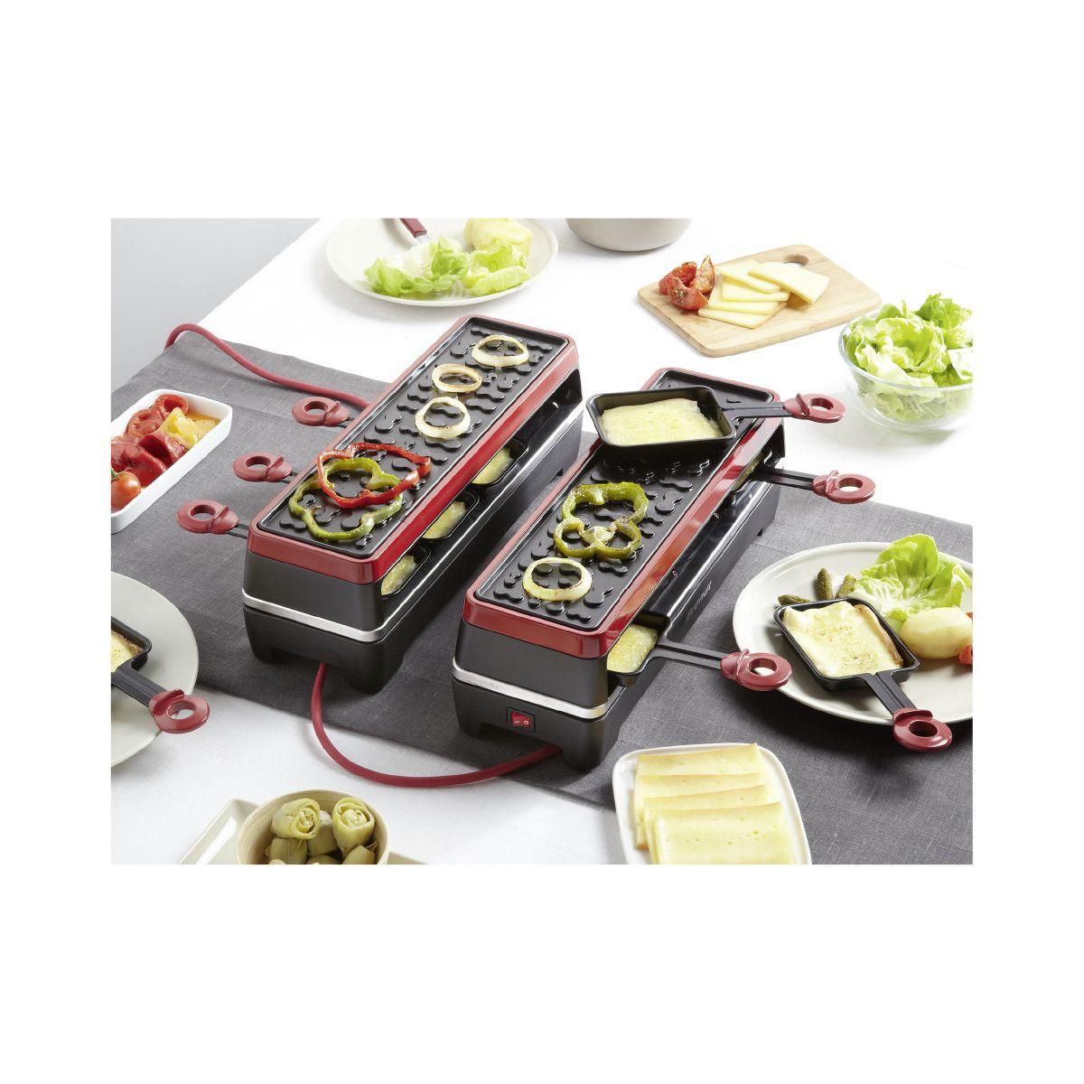 brandt rac2x4mg - appareil à raclette - comparer avec touslesprix