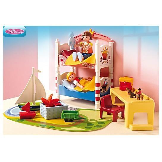 Playmobil 5333 chambre des enfants comparer avec for Playmobil chambre enfant