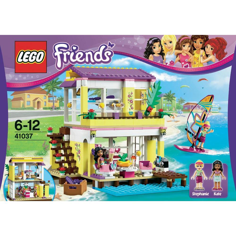 Sur Lego FriendsLa Plage 41037 Villa hsQrtd