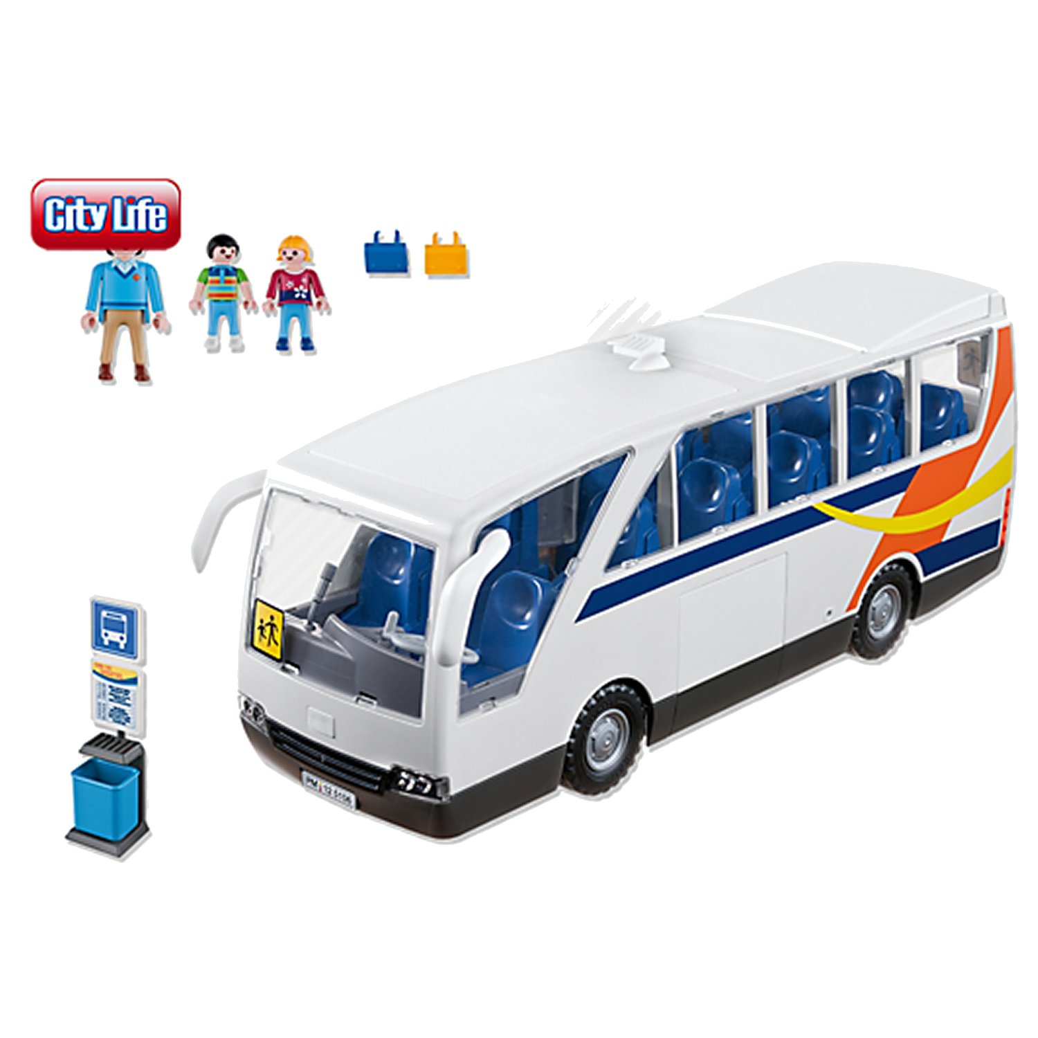 playmobil 5106 city life car scolaire comparer avec. Black Bedroom Furniture Sets. Home Design Ideas