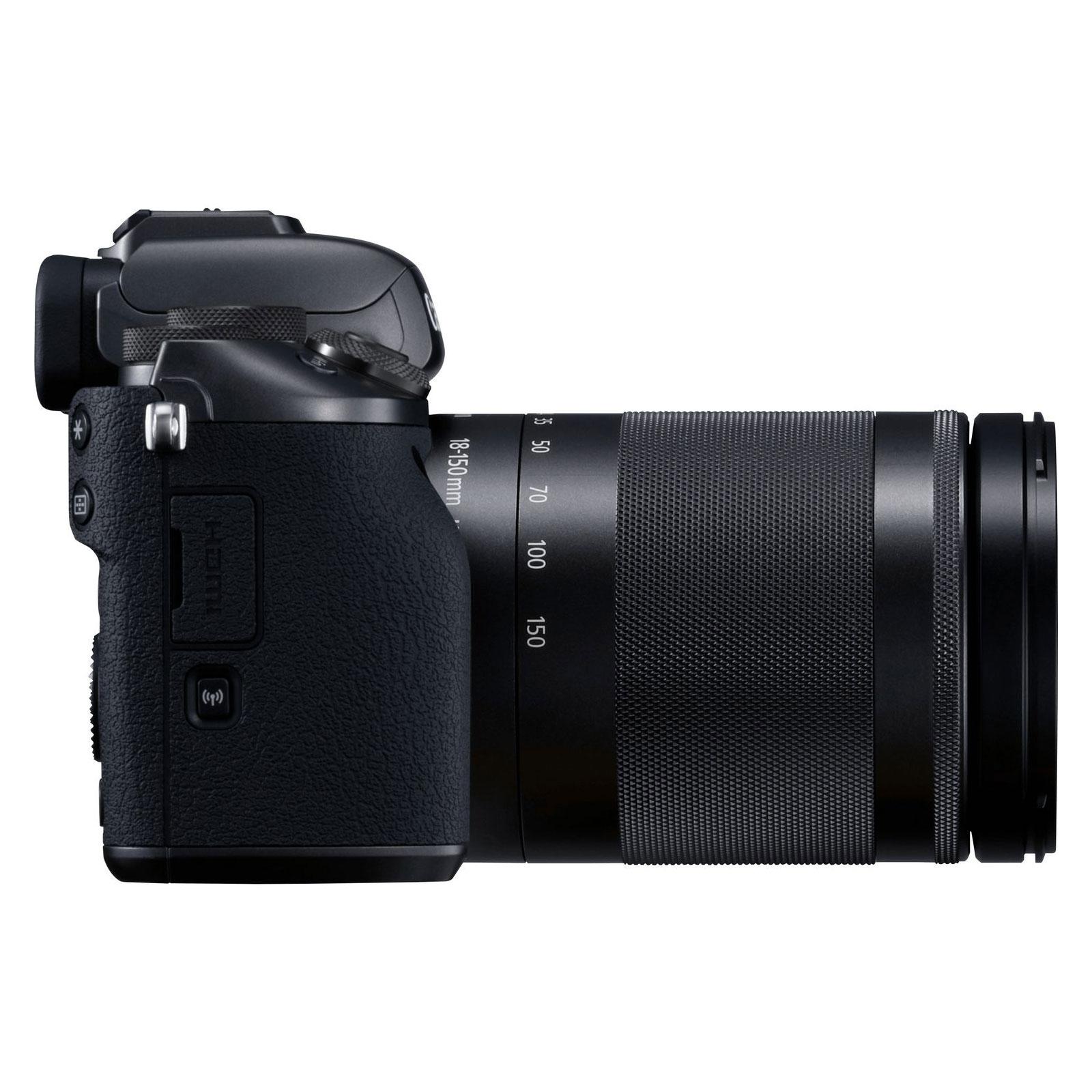 canon eos m5 avec objectif 18 150mm comparer avec. Black Bedroom Furniture Sets. Home Design Ideas