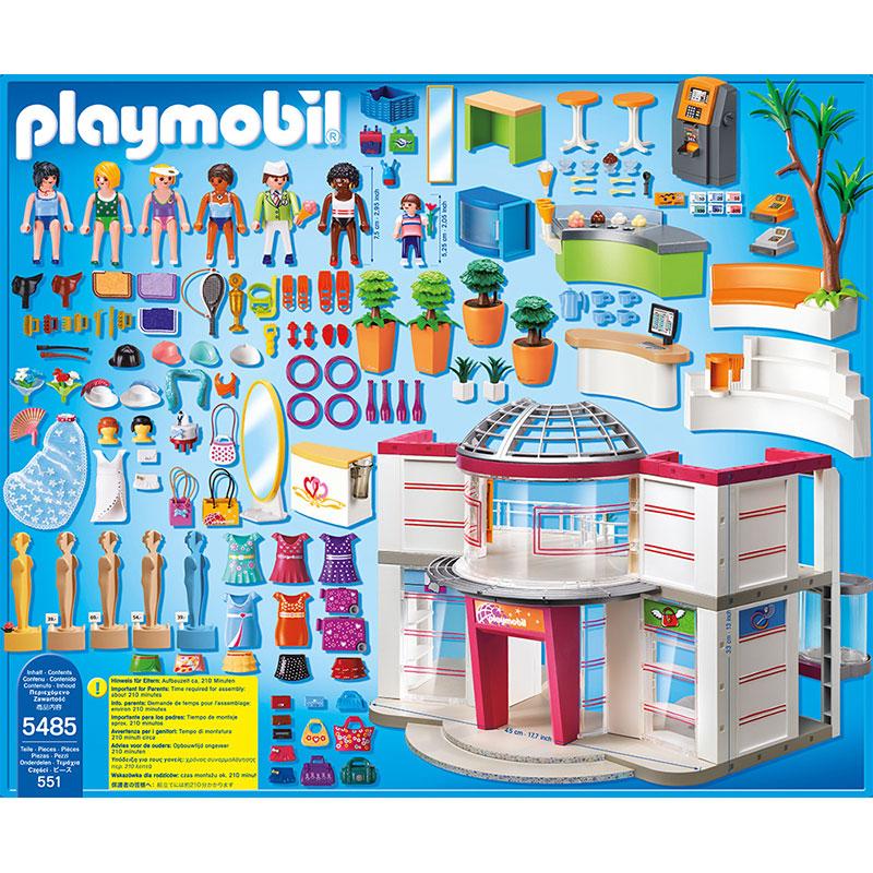 Playmobil 5485 city life grand magasin am nag for Playmobil salon de coiffure