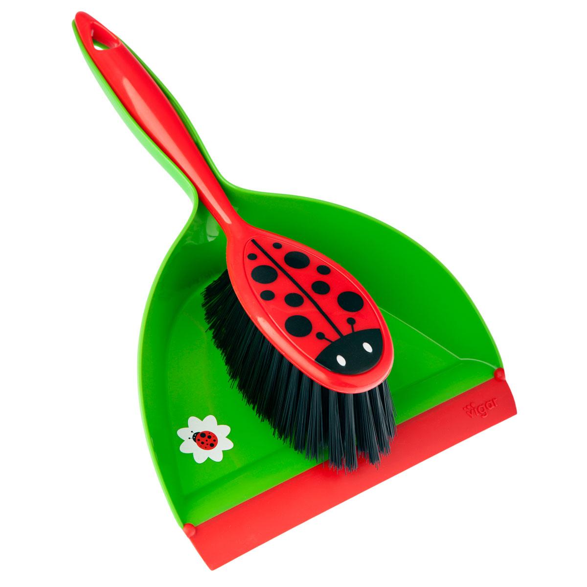 vigar pelle et balayette ladybug comparer avec. Black Bedroom Furniture Sets. Home Design Ideas