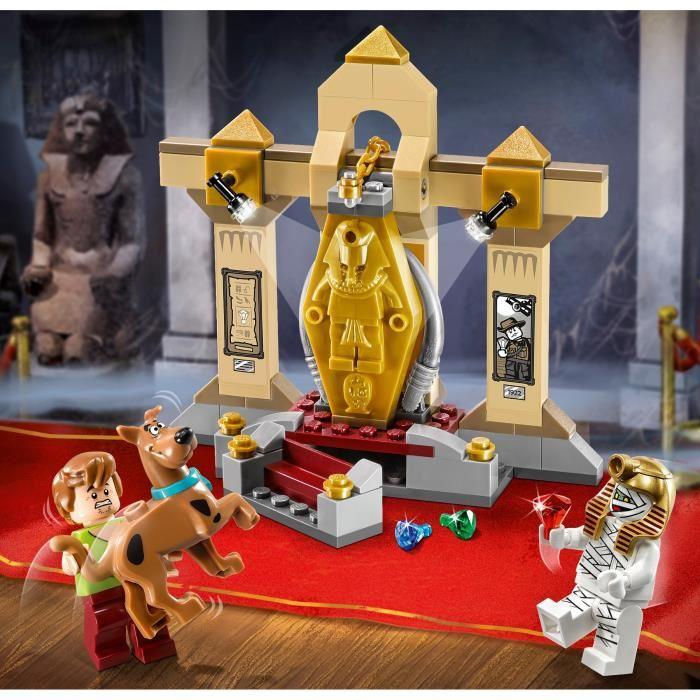 lego 75900 scooby doo le myst re du mus e de la momie comparer avec. Black Bedroom Furniture Sets. Home Design Ideas