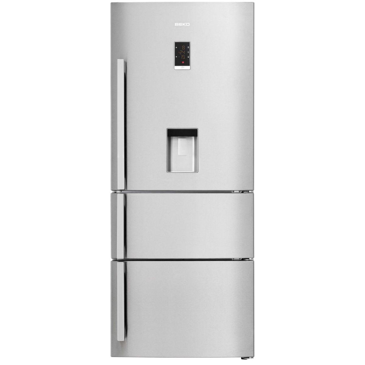 beko cn151920d - réfrigérateur combiné avec distributeur d'eau
