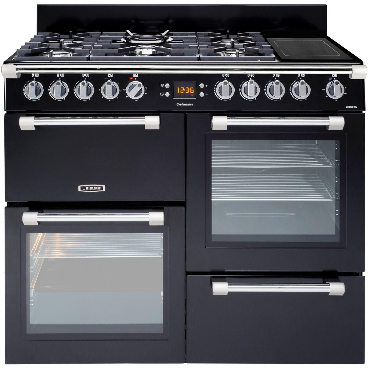 Piano De Cuisson Pas Cher Sauter leisure ck100f324 - piano de cuisson cookmaster 5 feux gaz dont 1 wok