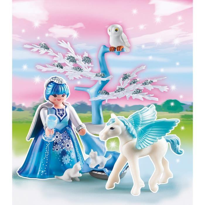 Playmobil 5354 princess reine des neiges avec b b - Princesse reine des neiges ...