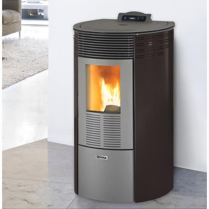 qlima ronda glass 80 s line 8 020 watts po le granul s comparer avec. Black Bedroom Furniture Sets. Home Design Ideas